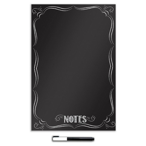 "Wall Pops! ® Dry Erase Board Decal 26"" x 39"" - Black French Bistro - image 1 of 1"