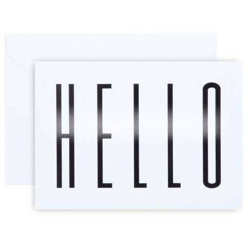 """Hello"" Notecards - image 1 of 1"