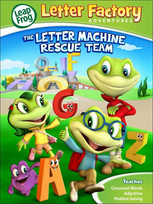 LeapFrog: Letter Factory Adventures - The Letter Machine Rescue Team (dvd_video) - image 1 of 1