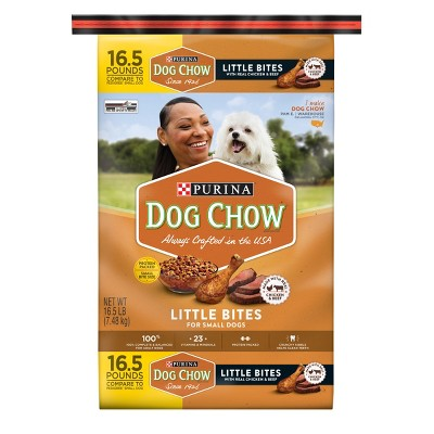 Dog Food: Purina Dog Chow Little Bites