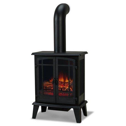 Real Flame Foster Stove Electric Fireplace Target