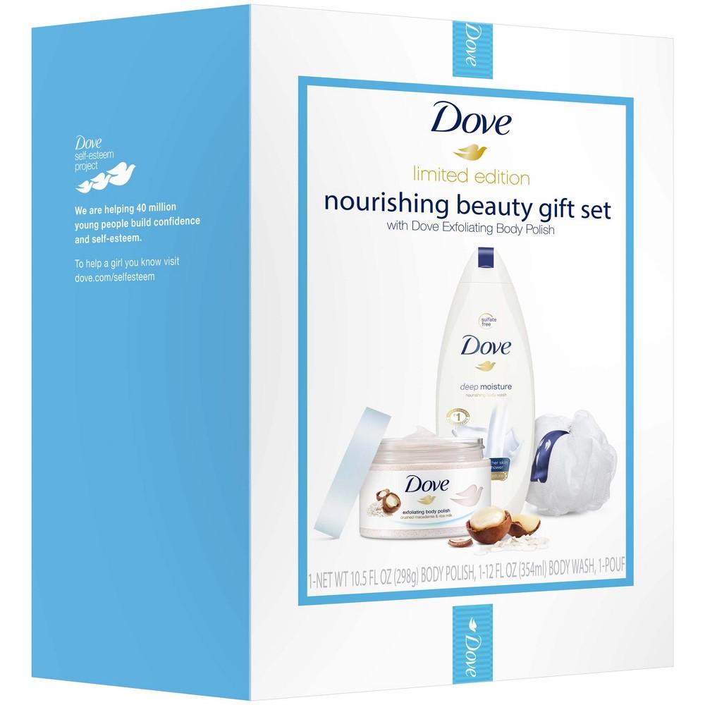 Dove Nourishing Beauty Gift Set - Deep Moisture with Macadamia - 22.5oz
