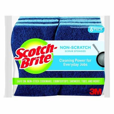 Scotch-Brite Non-Scratch Multipurpose Scrub Sponge - 6pk