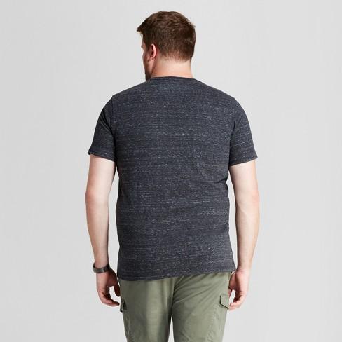 817d56e71cbb Men's Big & Tall Standard Fit Heathered Short Sleeve V-Neck T-Shirt -  Goodfellow & Co™