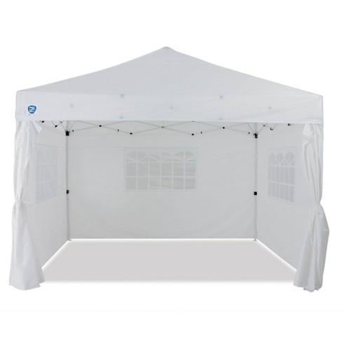 Z Shade Venture 12 X10 Lawn Garden Event Outdoor Pop Up Canopy Tent White Target