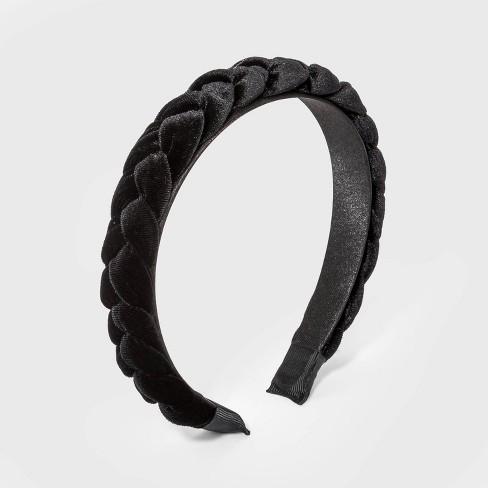 Girls' Velvet Braided Headband - art class™ - image 1 of 1