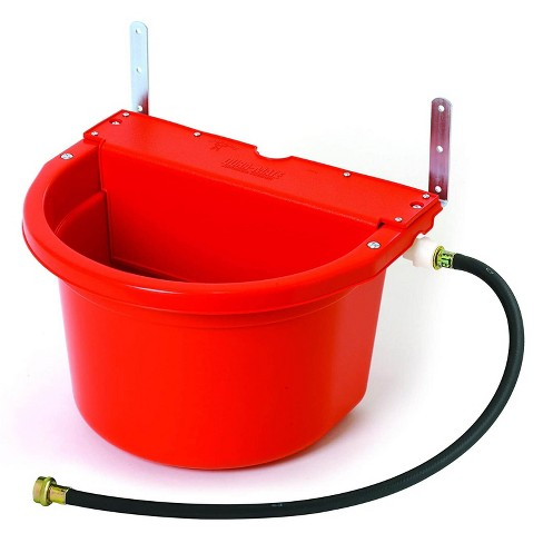 Little Giant FW16RED 4 Gal. Auto Float Controlled Waterer Livestock Water Trough - image 1 of 1