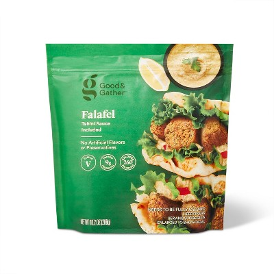Frozen Vegan Falafel with Tahini Sauce - 10.2oz - Good & Gather™