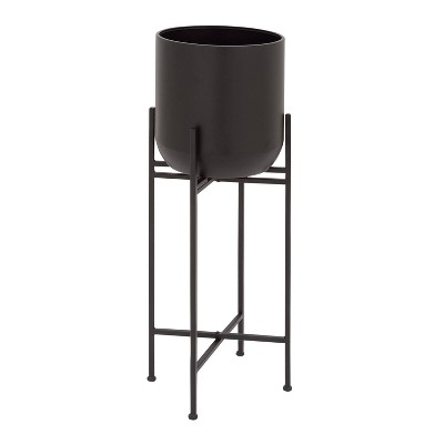 Planter with Stand Black - Olivia & May