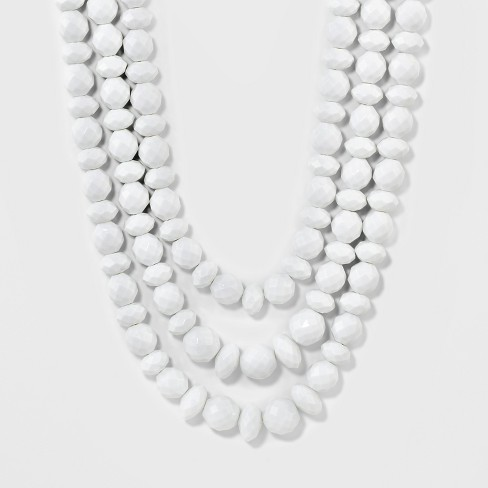 SUGARFIX by BaubleBar Bold Beaded Statement Necklace - image 1 of 3