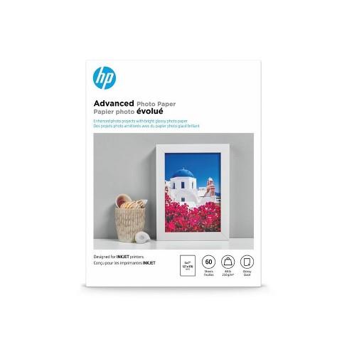 HP Advanced Photo Glossy Printer Paper - White (Q8690A) - image 1 of 2