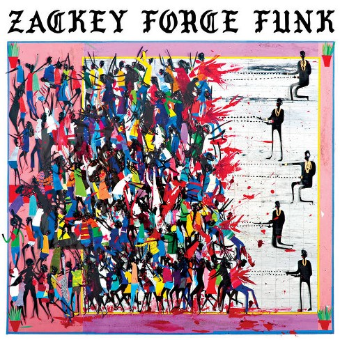 Zackey force funk - Electron don (White) (Vinyl) - image 1 of 1