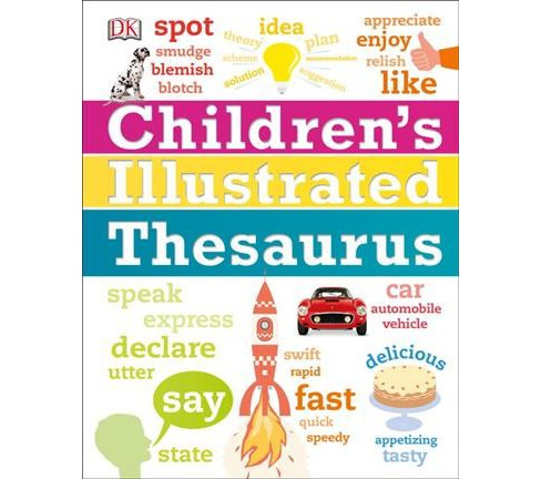 Children's Illustrated Thesaurus (Hardcover) - image 1 of 1