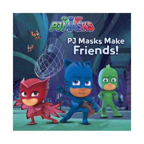 Pj Masks Make Friends! - (Paperback) - image 1 of 1