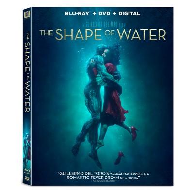 The Shape of Water (Blu-ray + DVD + Digital)
