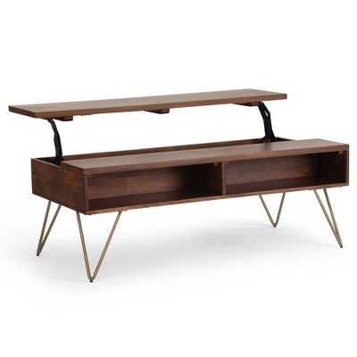 "48"" Moreno Solid Mango Wood Coffee Table - WyndenHall"
