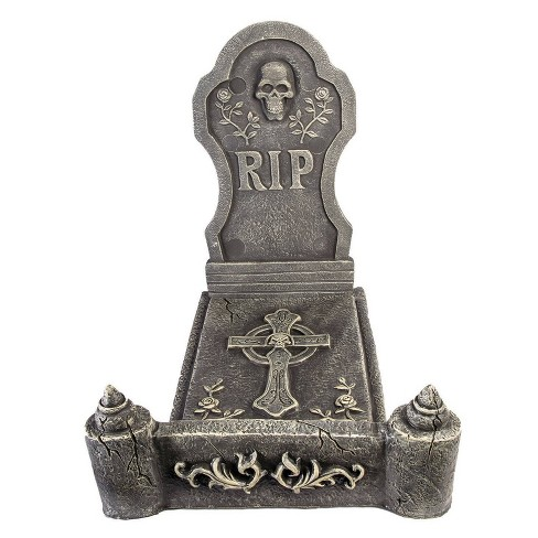 3pc Deluxe Foam Tombstone Bed Decorative Halloween Scene Prop - image 1 of 1