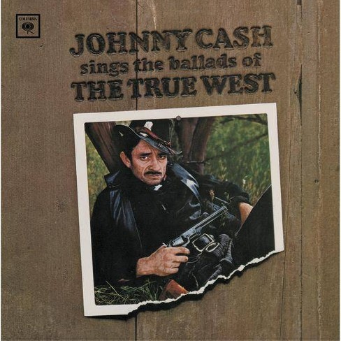 Johnny  JohnnyCash Cash - Sings Ballads Of The True Westsings Ballads Of The True West (CD) - image 1 of 1