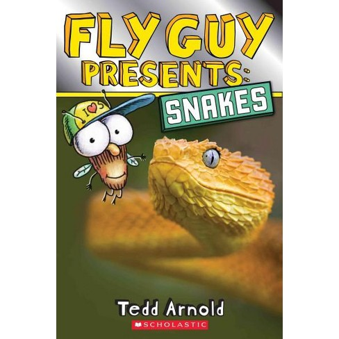 Fly Guy Presents: Snakes (Scholastic Reader, Level 2) - by  Tedd Arnold (Paperback) - image 1 of 1