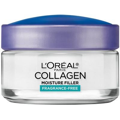 L'Oreal Paris Collagen Moisture Filler Daily Moisturizer - Unscented - 1.7oz