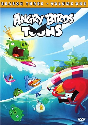 Angry Birds Toons Season 3 Vol 1 (DVD)
