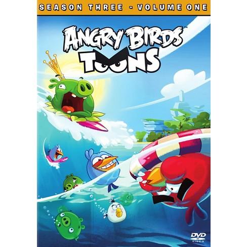 Angry Birds Toons Season 3 Vol 1 (DVD) - image 1 of 1