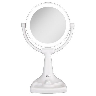 Zadro Fluorescent Surround Light Max Bright Vanity Mirror 10X/1X