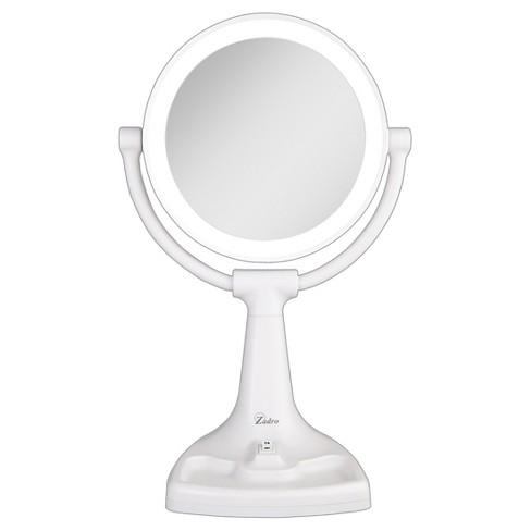 Zadro Fluorescent Surround Light Max Bright Vanity Mirror