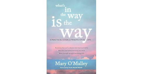 What's in the Way Is the Way : A Practical Guide for Waking Up to Life (Paperback) (Mary O'Malley) - image 1 of 1