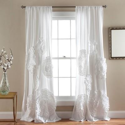 """Serena Window Curtain (84""""x54"""") - Lush Décor"""