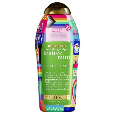 OGX Care with Pride Extra Strength Tea Tree Mint Conditioner - 19.5 fl oz