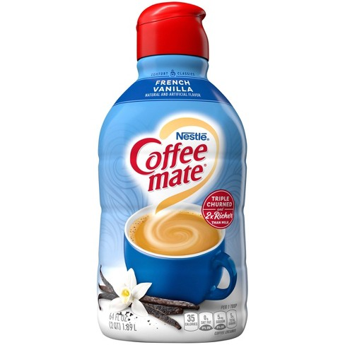 Coffee Mate French Vanilla Coffee Creamer - 0.5gal - image 1 of 4