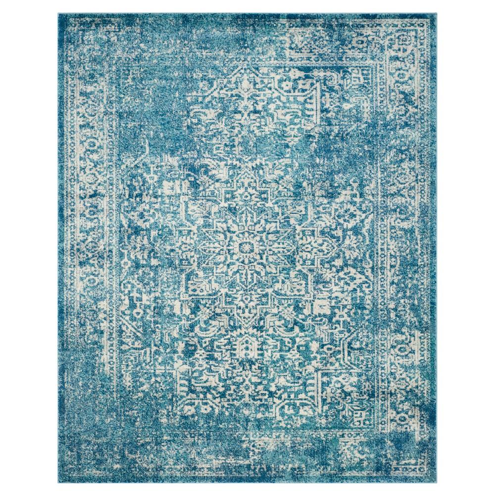 Check price Evoke Rug - Blue Ivory - 9x12 - Safavieh
