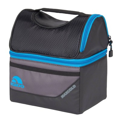 Igloo MaxCold Gripper 9 Lunch Bag - Black/Gray