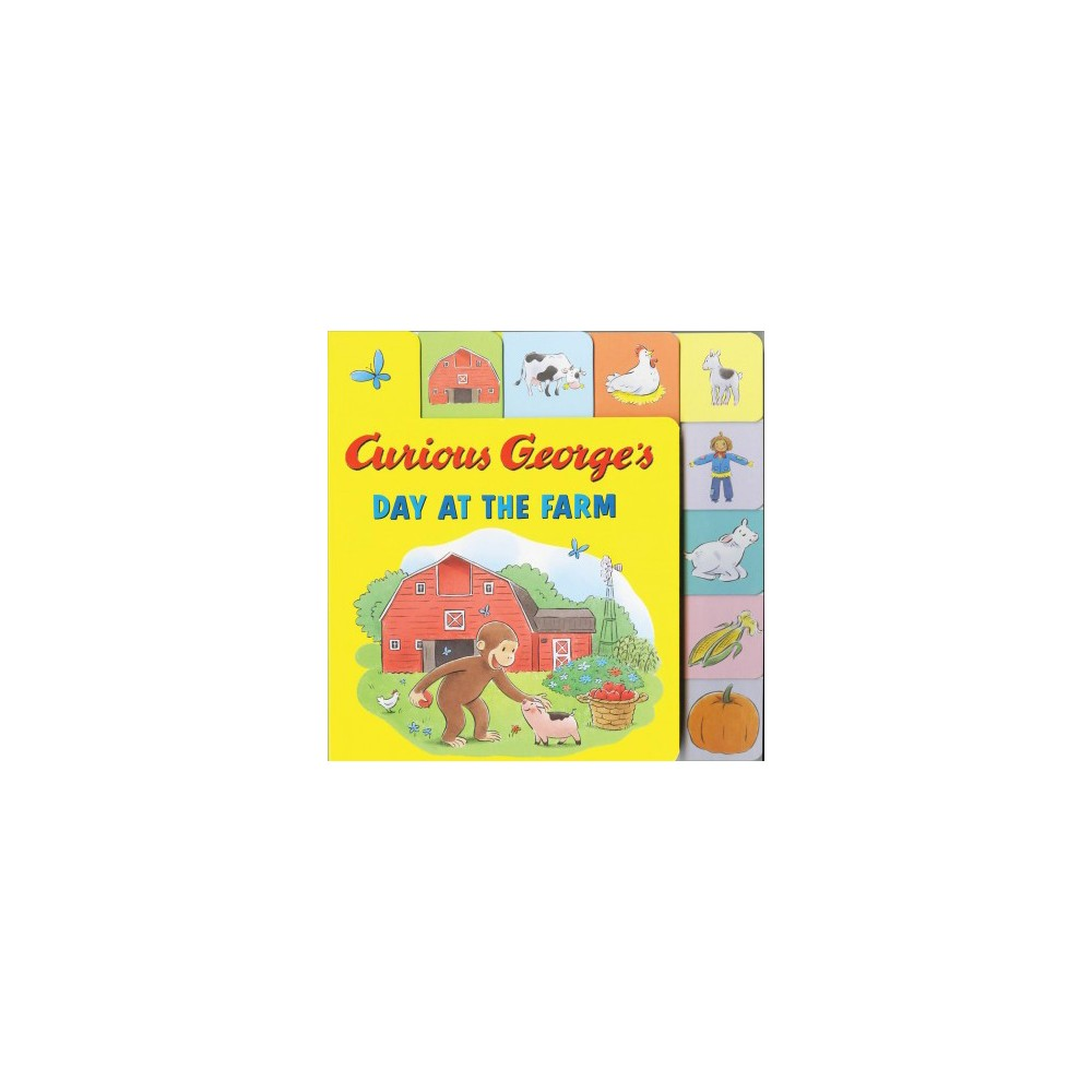 Curious George's Day at the Farm (Hardcover) (Hena Khan)