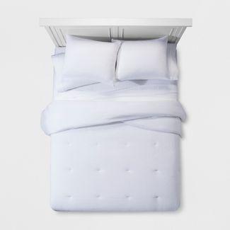White Micro Texture Comforter Set (Full/Queen) - Project 62™ + Nate Berkus™