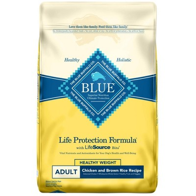 Blue Buffalo Life Protection Healthy Weight Chicken & Brown Rice Recipe Adult Dry Dog Food