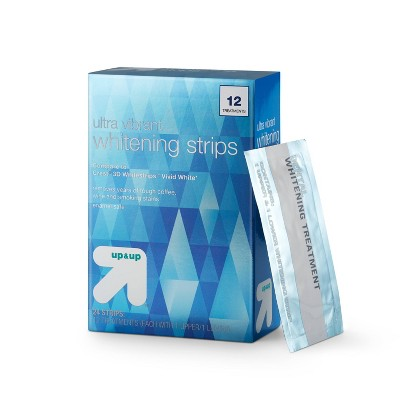 Ultra Vibrant Whitening Strips -12 Day Treatment - up & up™