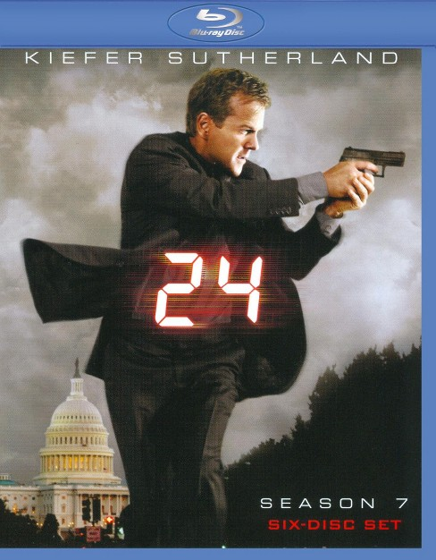 24: Season 7 (6 Discs) (Blu-ray) - image 1 of 1