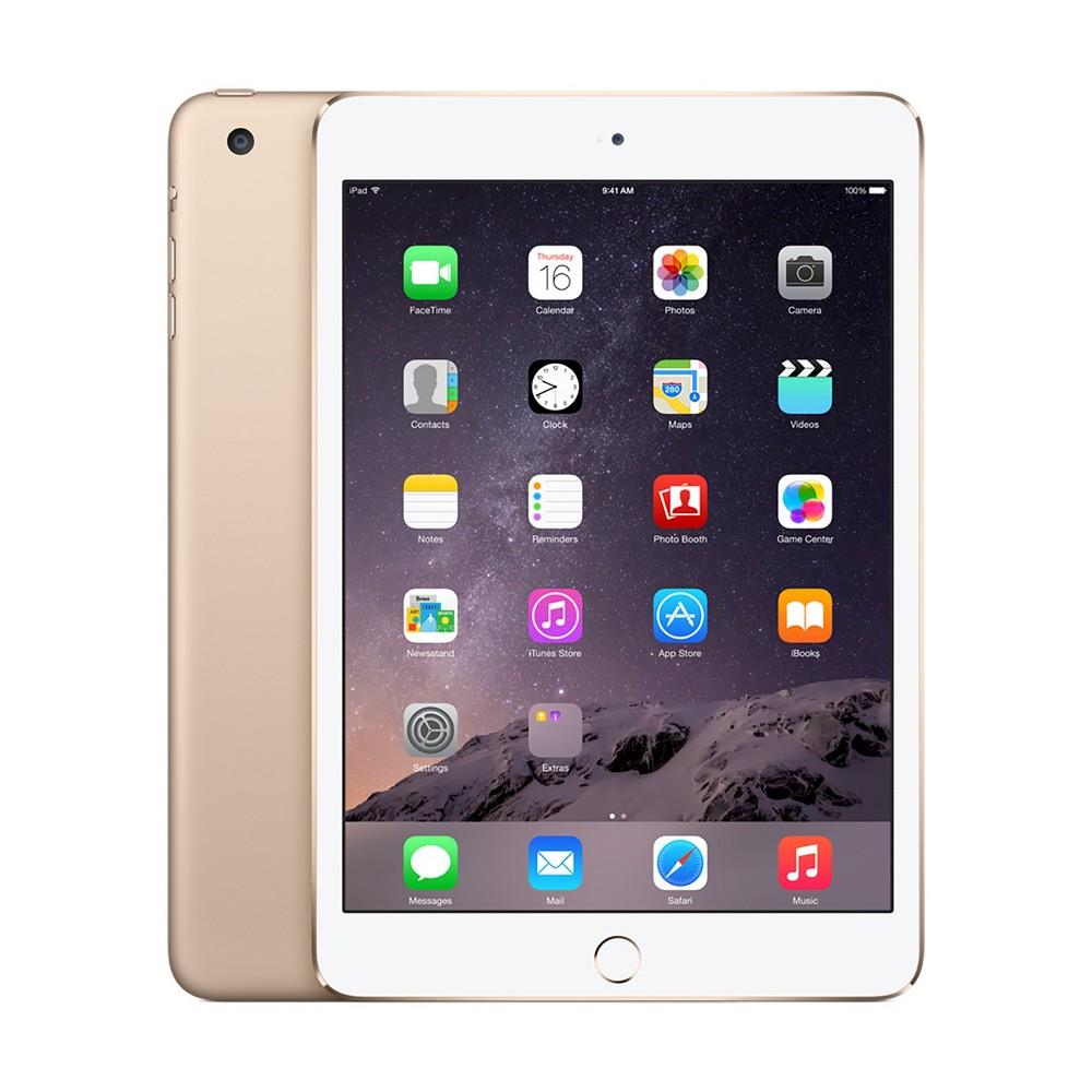 Apple iPad Mini 3 128GB Wi-Fi - Gold, Black