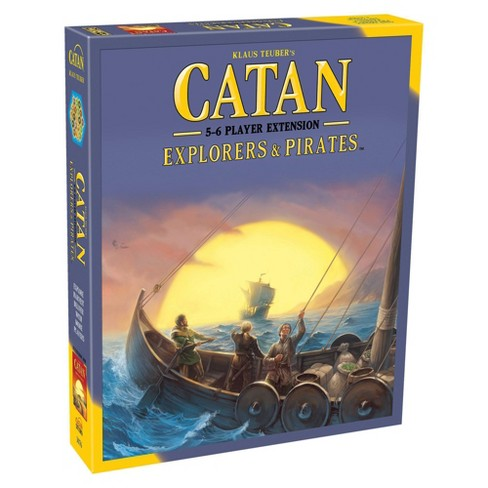 Catan Explorers & Pirates Expansion Board Game Pack (5-6 Player) - image 1 of 4
