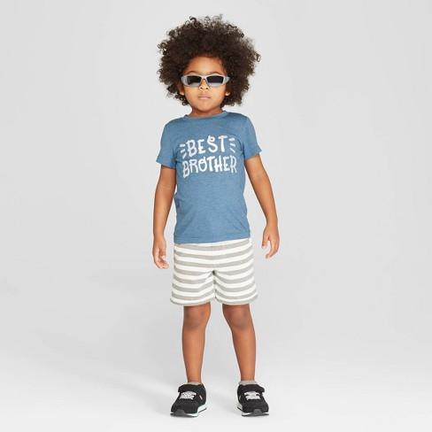 7a025963a Toddler Boys' Short Sleeve Best Brother T-Shirt - Cat & Jack™ Blue. Shop  all Cat & Jack