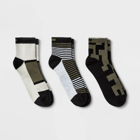 Pair of Thieves Men's Cushion 3pk Ankle Socks - 8-12 - image 1 of 4