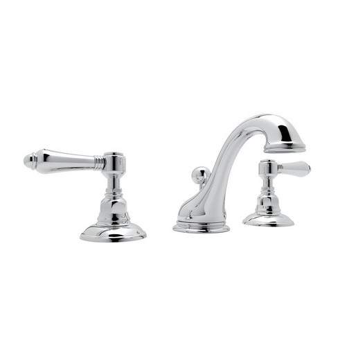 Rohl A1408LM-2 Viaggio 1.2 GPM Widespread Bathroom Faucet with Pop-Up Drain Assembly - image 1 of 1