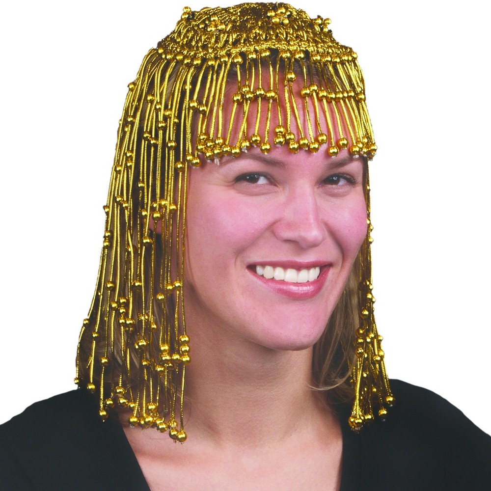 Image of Halloween Women's Cleopatra Headpiece Gold, Size: One Size
