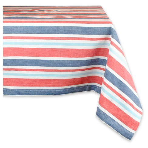 Patriotic Stripe Tablecloth - image 1 of 1