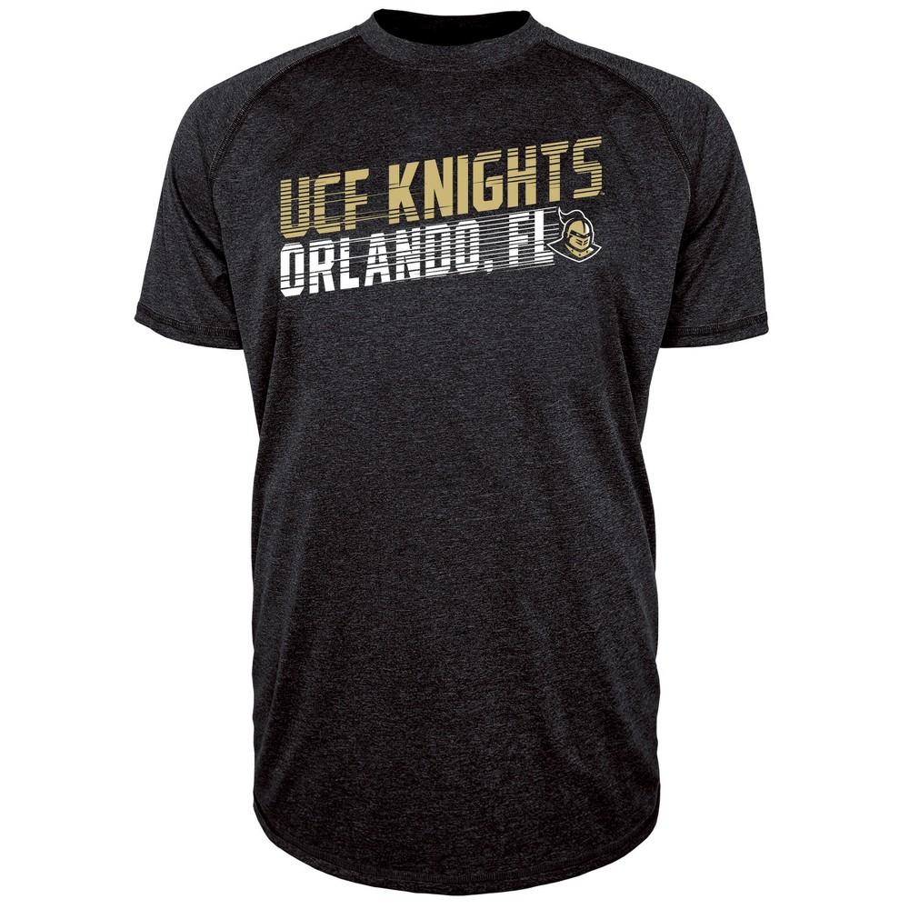 Ncaa Ucf Knights Men 39 S Short Sleeve Raglan Performance T Shirt M