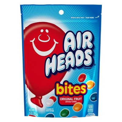 Airheads Bites Fruit Flavored Candy - 9oz