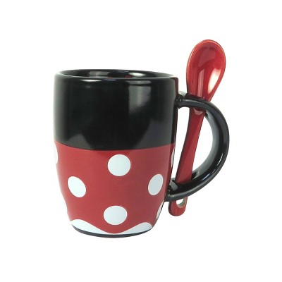 Disney Minnie Mouse 2oz Espresso Mug with Spoon