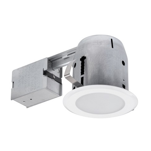 "Globe Electric 90752 5"" Shower Lens Trim Recessed Lighting Kit LED - image 1 of 1"